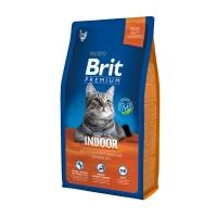 BRIT Premium Indoor, Pui, pachet economic hrană uscată pisici de interior, 8kg x 2