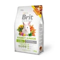 BRIT Premium Junior, Lucernă, hrană uscată iepure junior, 300g