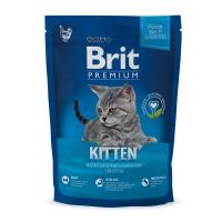 BRIT Premium Kitten, Pui, hrană uscată pisici junior, 800g