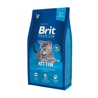 BRIT Premium Kitten, Pui, hrană uscată pisici junior, 8kg