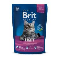 BRIT Premium Light, Pui, hrană uscată pisici, managemetul greutății, 300g