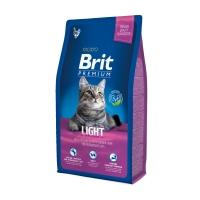 BRIT Premium Light, Pui, hrană uscată pisici, managemetul greutății, 8kg