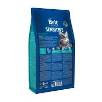 BRIT Premium Sensitive, Miel, hrană uscată pisici, sensibilități digestive, 8kg