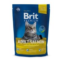 BRIT Premium, Somon, hrană uscată pisici, 800g