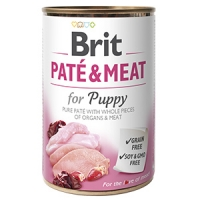 Brit Pate&Meat Puppy, 400 g
