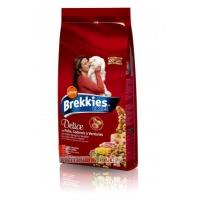 Brekkies Cat Excel Delice Pui si Prepelita 20 kg