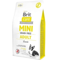 Brit Care Mini Grain Free Adult Lamb, 2 Kg
