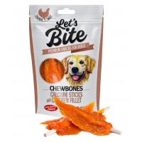 Brit Lets Bite Chewbones Calcium Sticks With Chicken Fillet 80 g