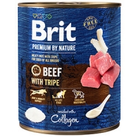 Pachet Brit Premium By Nature Beef With Tripes 6x800 g