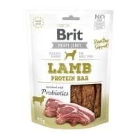BRIT Jerky Lamb Protein Bar, recompense câini, Batoane proteice Miel, 80g