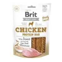 BRIT Jerky Chicken Protein Bar, recompense câini, Batoane proteice Pui, 80g