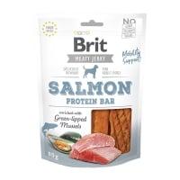 BRIT Jerky Salmon Protein Bar, recompense câini, Batoane proteice Somon, 80g