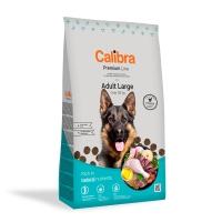 CALIBRA Premium Line Adult L, Pui, pachet economic hrană uscată câini, 12kg x 2