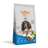 CALIBRA Premium Line Adult, Pui, pachet economic hrană uscată câini, 12kg x 2