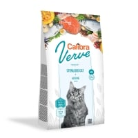 CALIBRA Verve GF Sterilised, Hering, hrană uscată fară cereale pisici sterilizate, 3.5kg