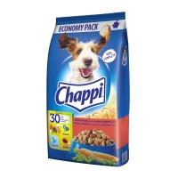 CHAPPI Vită, Pasăre și Legume, pachet economic hrană uscată câini, 9kg x 2