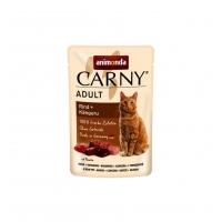Carny Pisica Adult Vita si Cangur, 85 g
