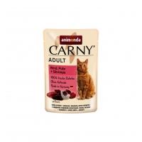 Carny Pisica Adult Vita, Curcan si Creveti, 85 g