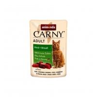 Carny Pisica Adult Vita si Strut, 85 g