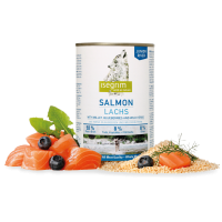 Conserva Isegrim Dog Junior Salmon, 400 g