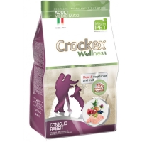 Crockex Wellness Dog Adult, Med-Max, Iepure Si Orez, 12 kg