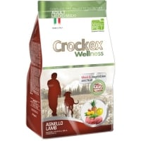 Crockex Wellness Dog Adult, Med-Max, Miel Si Orez, 12 kg