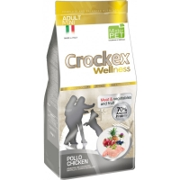 Crockex Wellness Dog Adult Mini, Pui Si Orez, 7.5 kg