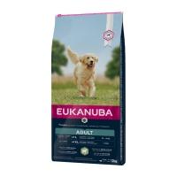EUKANUBA Basic Adult L-XL, Miel și Orez, pachet economic hrană uscată câini, 12kg x 2