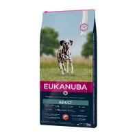 EUKANUBA Basic Adult L-XL, Somon și Orz, pachet economic hrană uscată câini, 12kg x 2