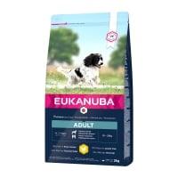 EUKANUBA Basic Adult M, Pui, hrană uscată câini, 2kg