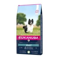EUKANUBA Basic Adult S-M, Miel și Orez, hrană uscată câini, 12kg