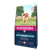 EUKANUBA Basic Adult S-M, Somon și Orz, hrană uscată câini, 2.5kg