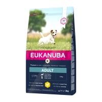 EUKANUBA Basic Adult S, Pui, hrană uscată câini, 3kg