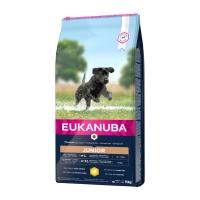 EUKANUBA Basic Junior L-XL, Pui, hrană uscată câini junior, 15kg