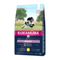 EUKANUBA Basic Puppy M, Pui, hrană uscată câini junior, 3kg