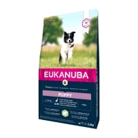 EUKANUBA Basic Puppy S-M, Miel și Orez, hrană uscată câini junior, 2.5kg