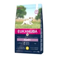 EUKANUBA Basic Puppy S, Pui, hrană uscată câini junior, 3kg