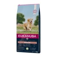 EUKANUBA Basic Senior L-XL, Miel și Orez, hrană uscată câini senior, 12kg