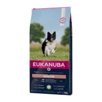 EUKANUBA Basic Senior S-M, Miel și Orez, hrană uscată câini senior, 12kg
