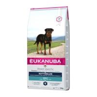 EUKANUBA Breed Specific Adult Rottweiler, Pui, pachet economic hrană uscată câini, 12kg x 2