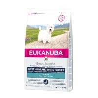 EUKANUBA Breed Specific Adult West Highland White Terrier, Pui, hrană uscată câini, 2.5kg