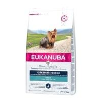 EUKANUBA Breed Specific Adult Yorkshire Terrier, Pui, hrană uscată câini, 2kg