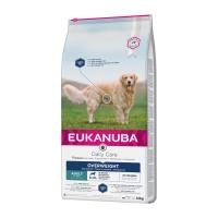EUKANUBA Daily Care Câini Supraponderali Adult S-XL, Pui, hrană uscată câini, 12kg