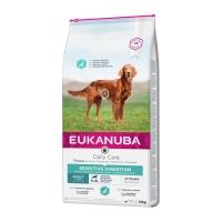 EUKANUBA Daily Care Digestie Sensibilă Adult S-XL, Pui, hrană uscată câini, 12kg