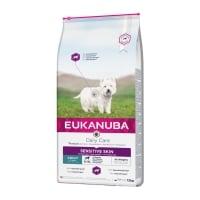 EUKANUBA Daily Care Piele Sensibila Adult S-XL, Pește, hrană uscată câini, 12kg
