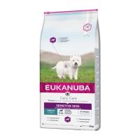 EUKANUBA Daily Care Piele Sensibila Adult S-XL, Pește, pachet economic hrană uscată câini, 12kg x 2