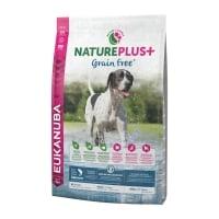 EUKANUBA Grain Free Adult S-XL, Somon, hrană uscată câini, 10kg