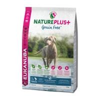 EUKANUBA Grain Free Junior S-XL, Somon, hrană uscată câini junior, 2.3kg