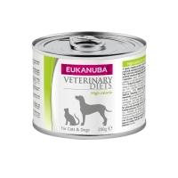 EUKANUBA Veterinary Diets High Calorie, Pui cu Orez, dietă veterinară câini și pisici, conservă hrană umedă, convalescență, 200g