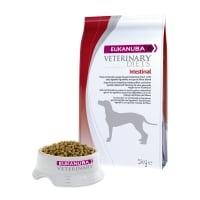 EUKANUBA Veterinary Diets Intestinal, Pui și Curcan, dietă veterinară câini, hrană uscată, afecțiuni digestive, 5kg